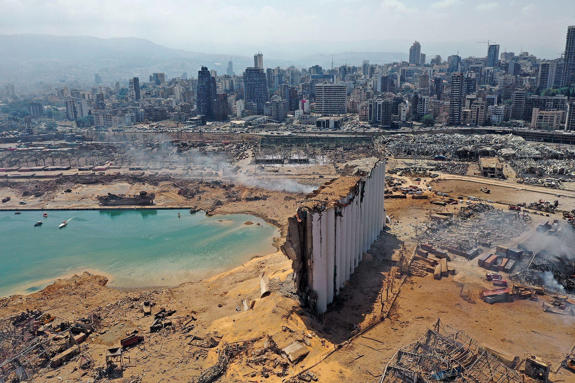 """Beyrouth: """"Toutes les conditions étaient réunies pour qu'une ..."""