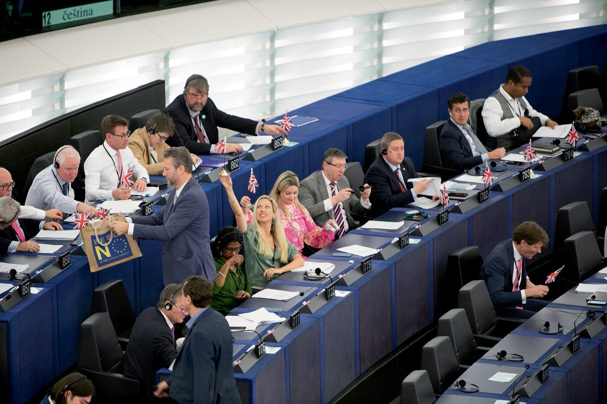 Parlement européen : les députés britanniques tournent la page