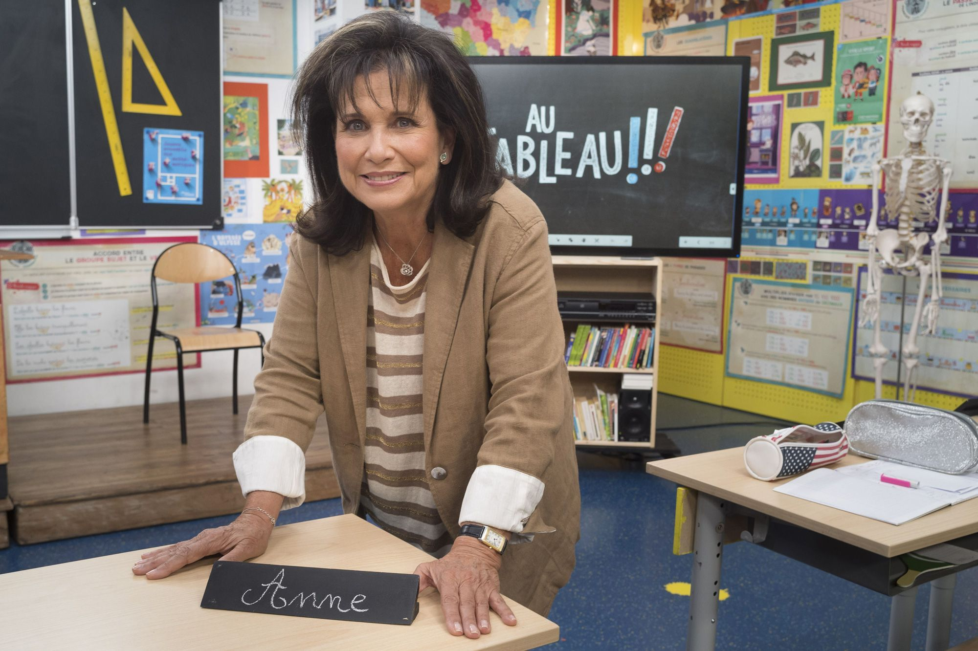 """Anais Jeanneret Photo Lui anne sinclair dans """"au tableau!"""" : """"j'adorerais interviewer"""