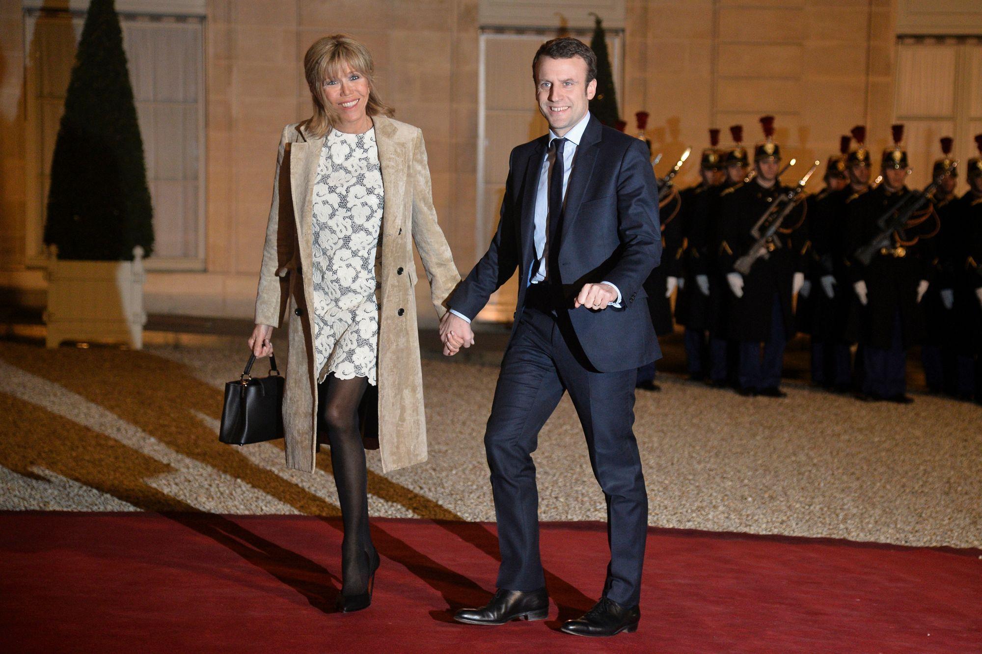 Brigitte et Emmanuel Macron prêts pour tous les défis