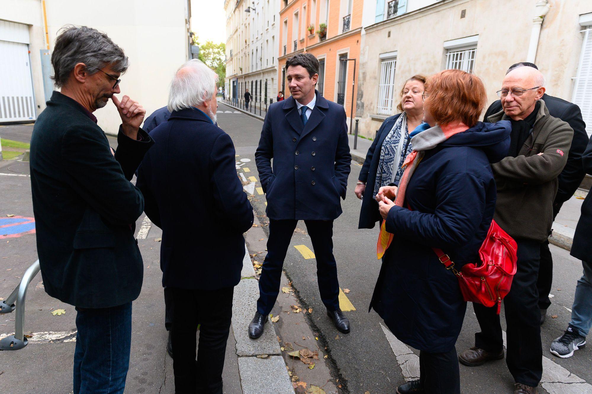 Griveaux ne doute pas du soutien de Macron