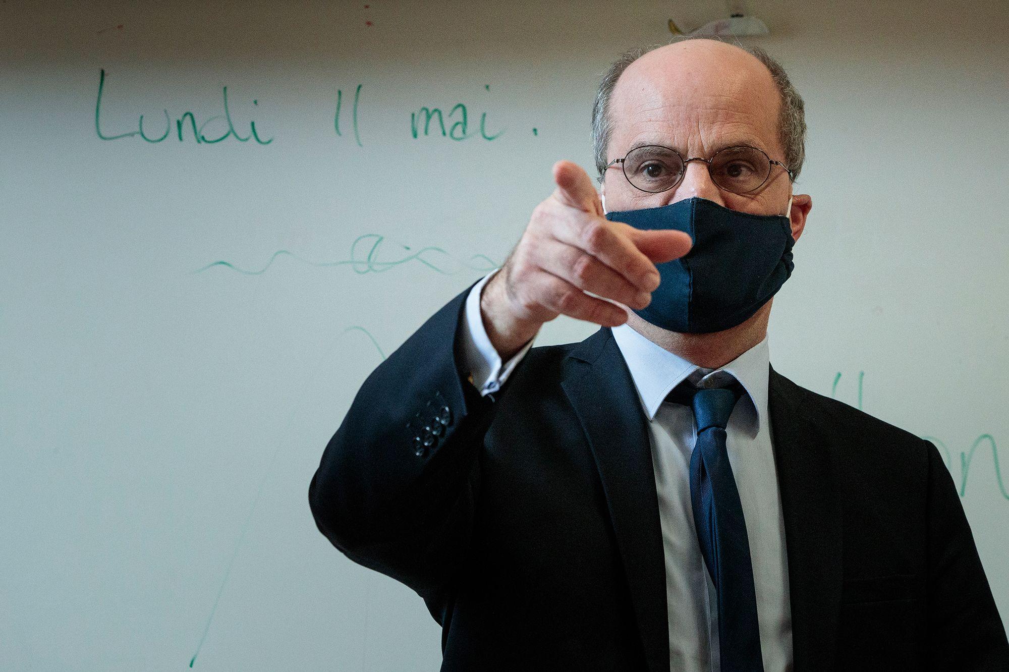 """Jean-Michel Blanquer: """"Le bon sens l'a emporté"""""""