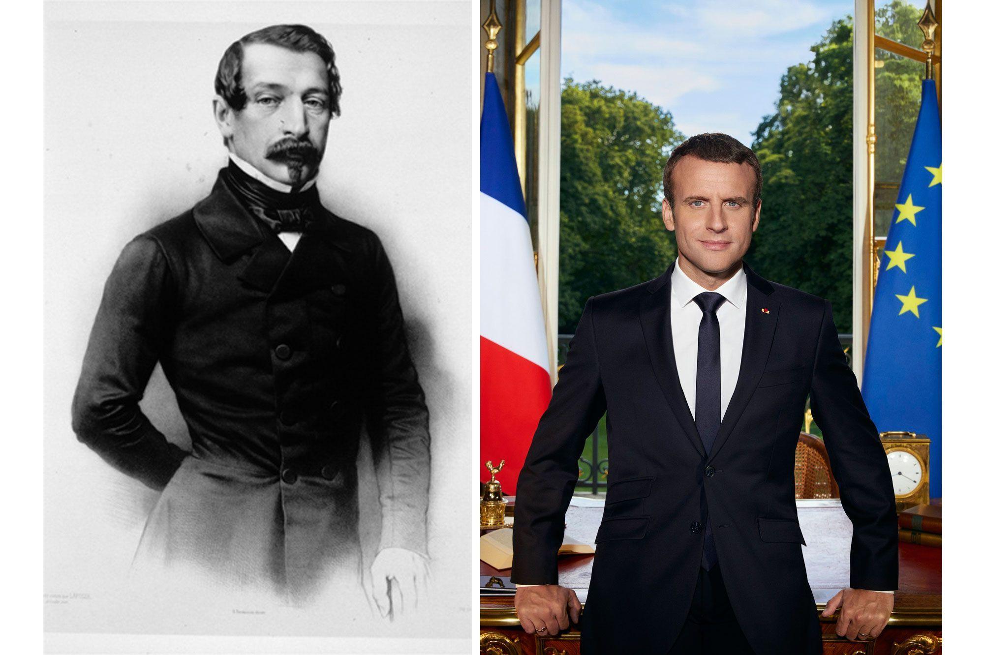 Les Portraits Officiels Des Presidents Francais De Louis Bonaparte A Emmanuel Macron