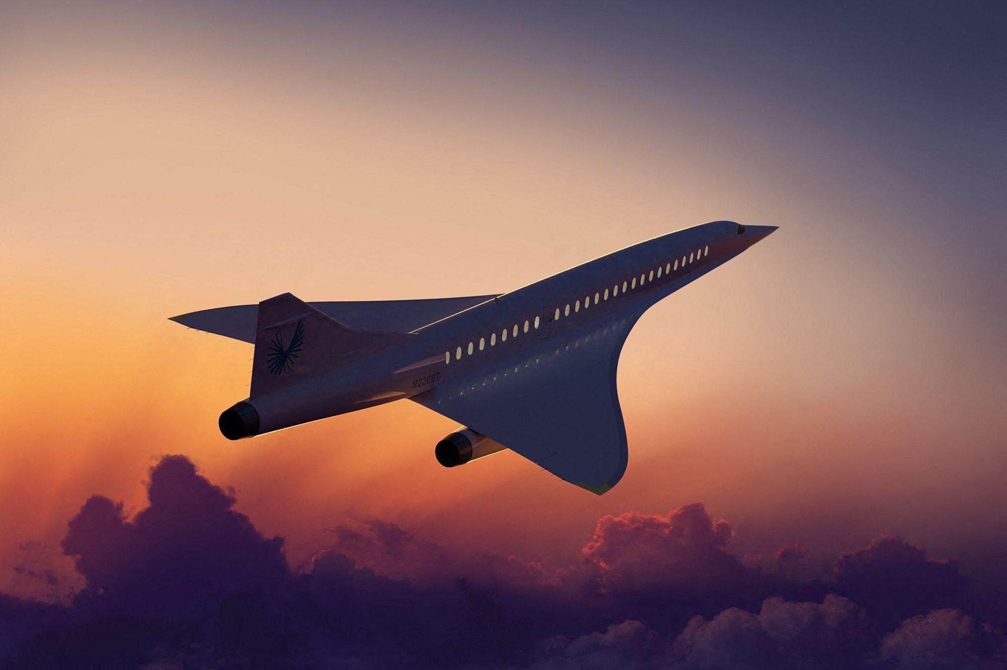 Boom dévoile l'héritier du Concorde, l'avion supersonique XB-1