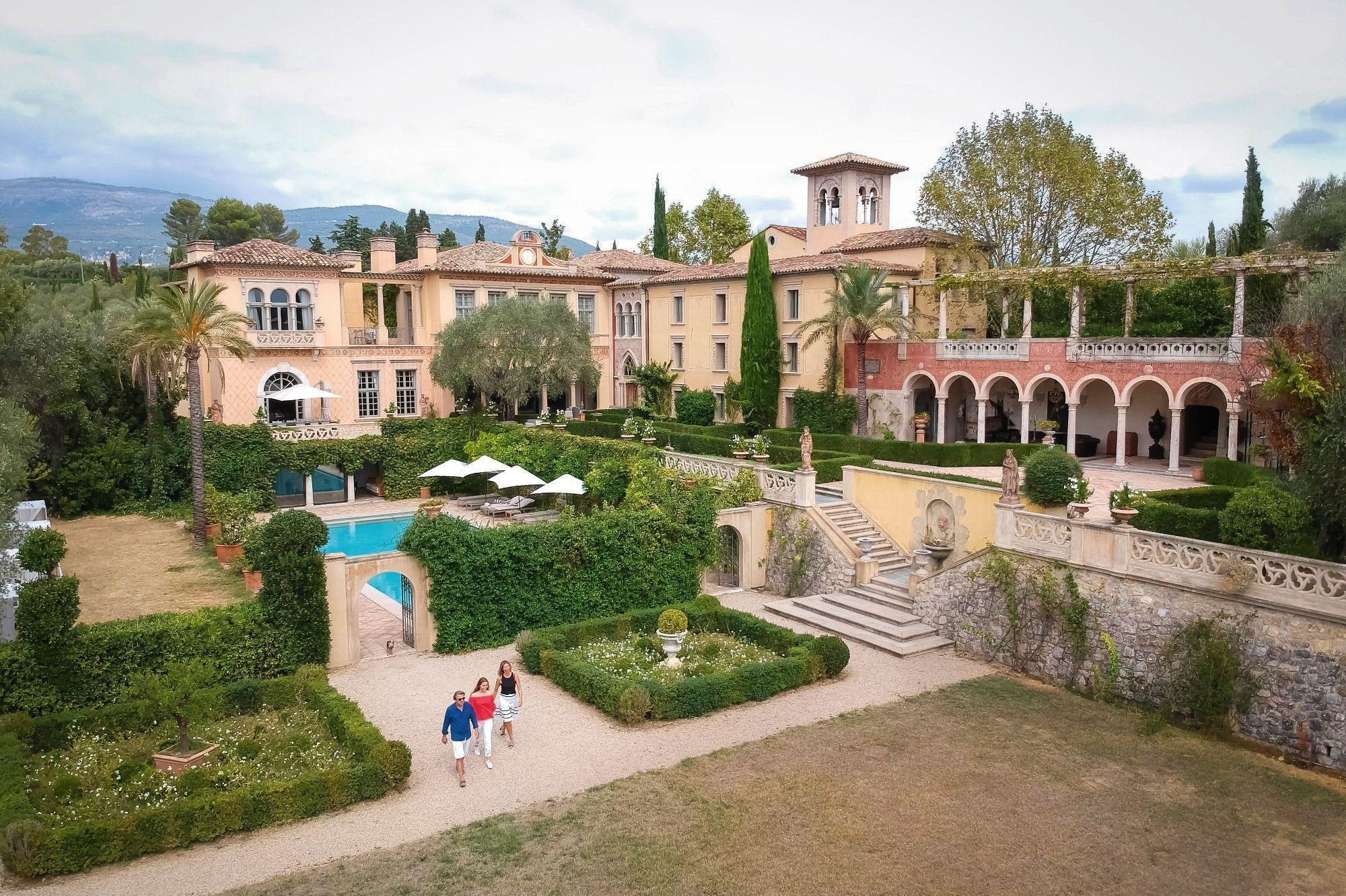 Villa Terre Du Sud le château diter condamné à la destruction