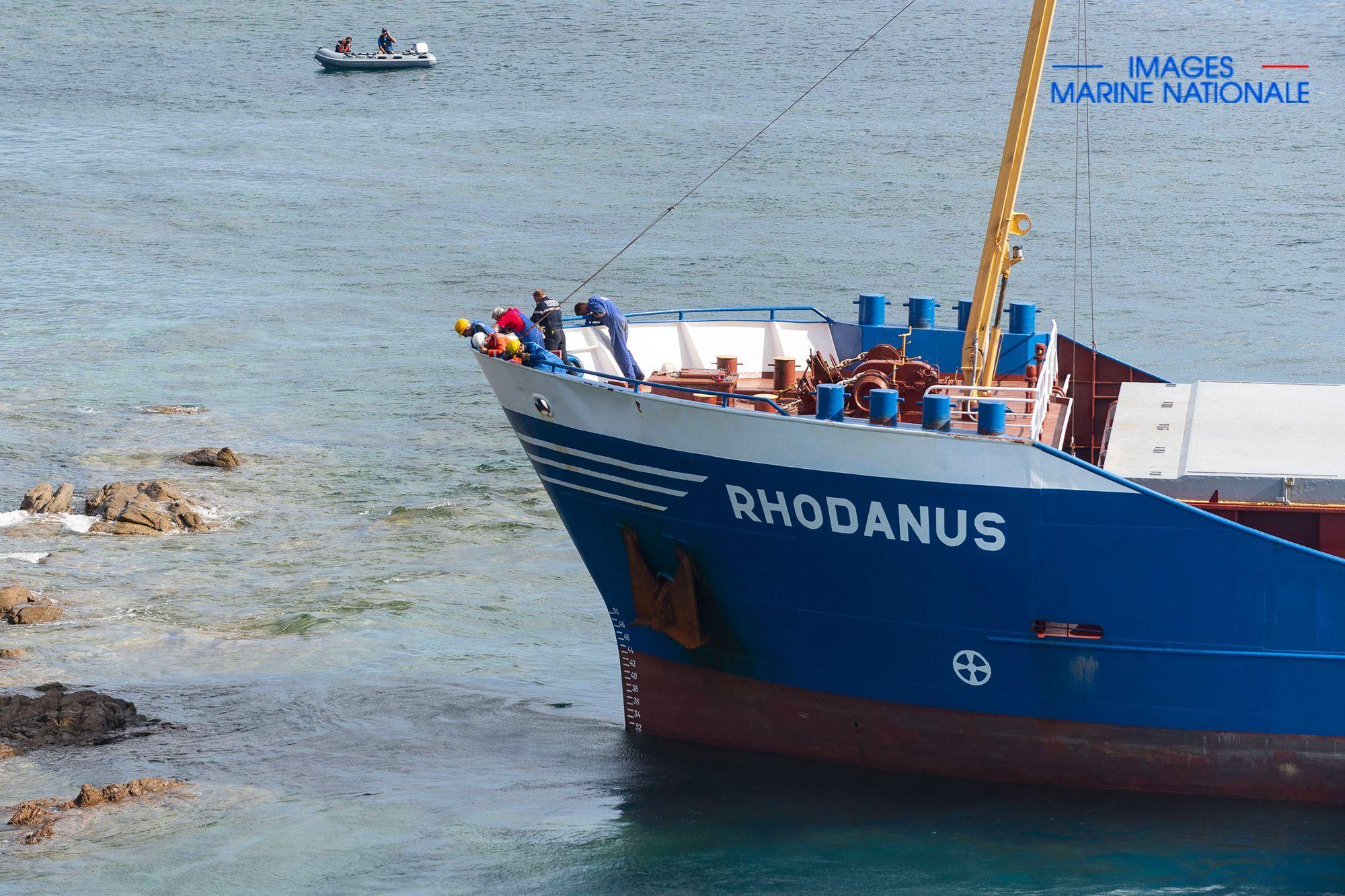 Le cargo coincé au large de Bonifacio a été déséchoué