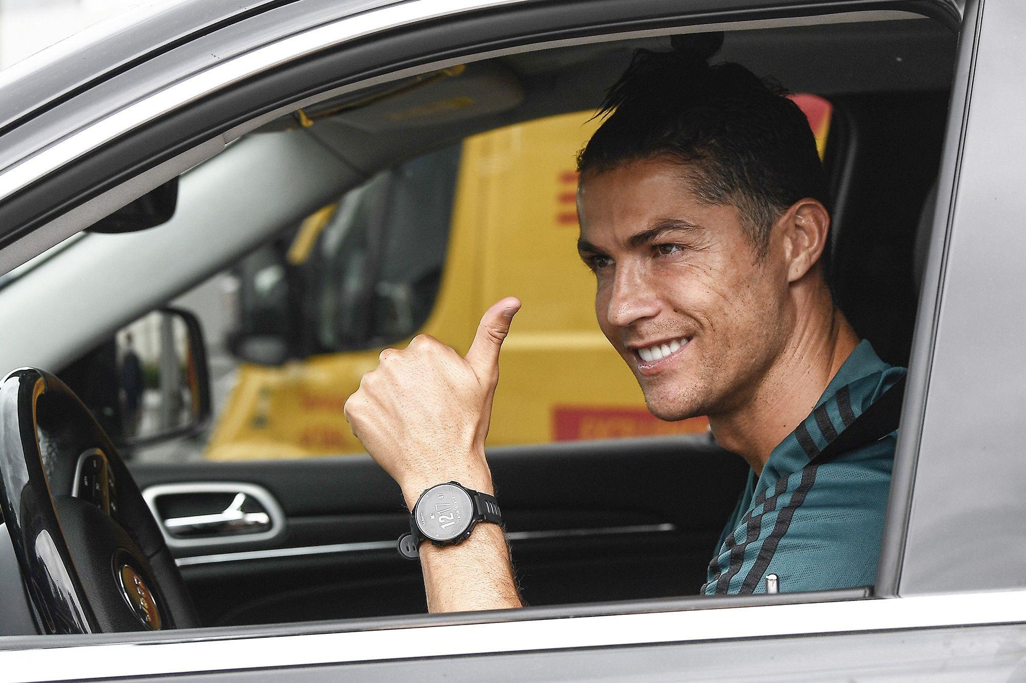 Ronaldo le retour de la star portugaise à l'entrainement avec la juve