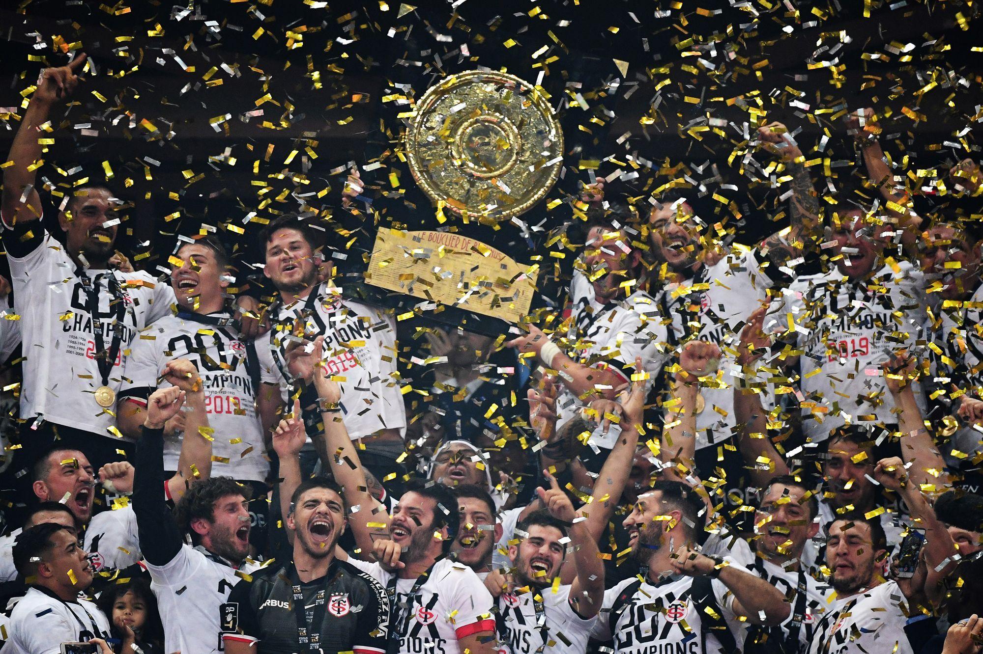 Top 14: Toulouse remporte son 20e Bouclier