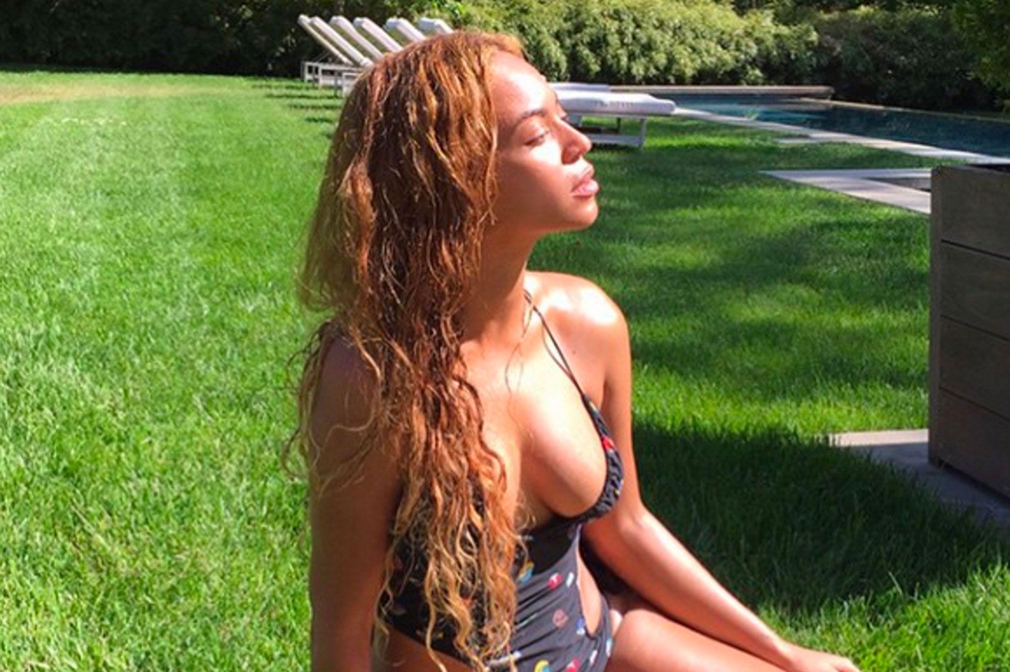 2054e4d4f0 La star en bikini de la semaine : Beyoncé