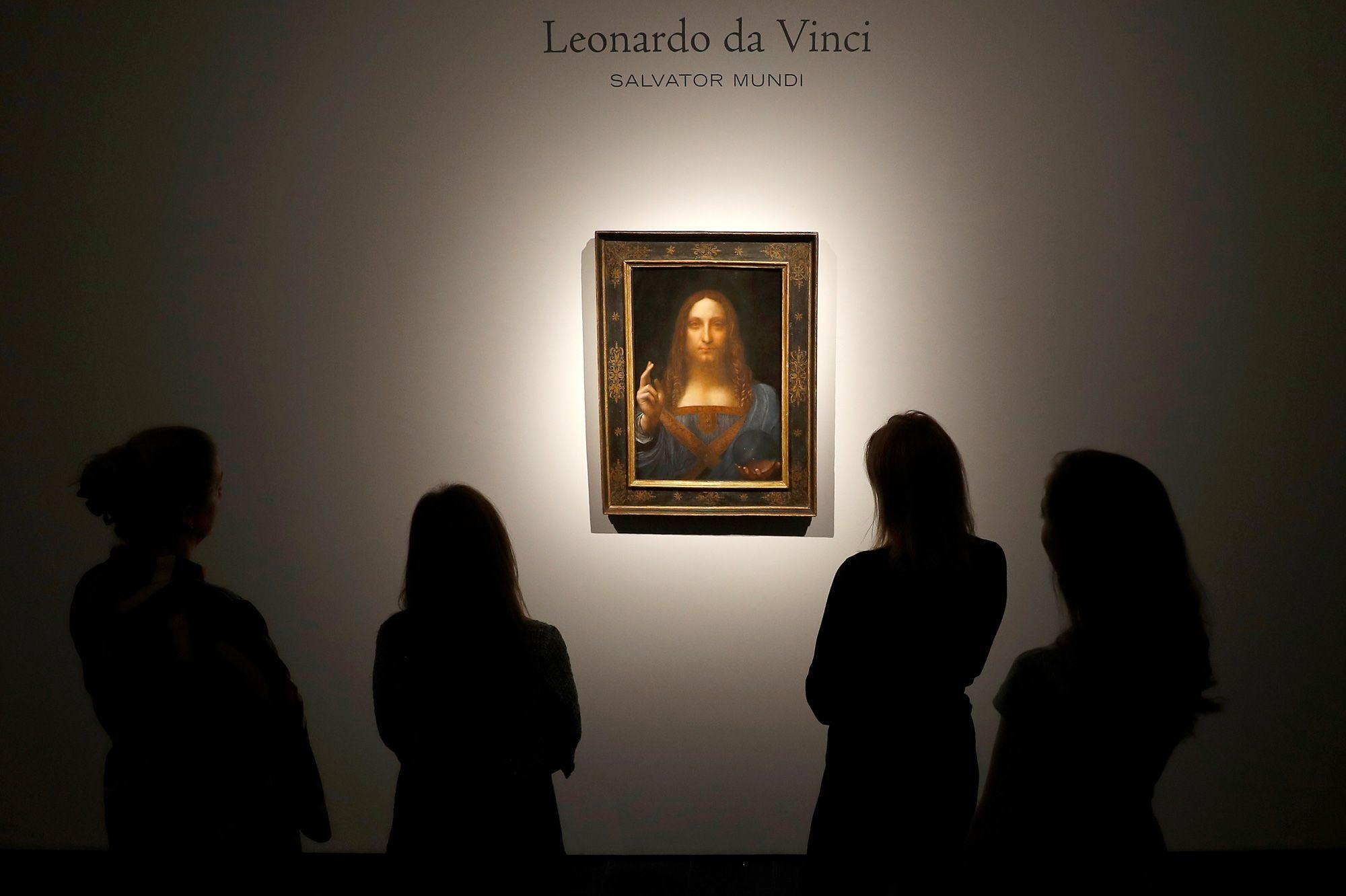 450 3 Millions De Dollars Un De Vinci Devient Le Tableau Le Plus Cher Du Monde