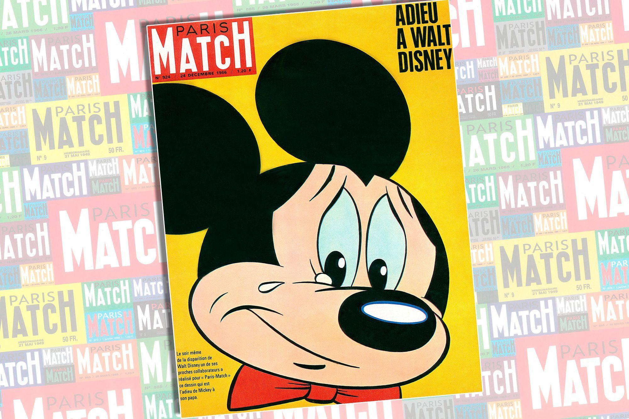 Le Jour Où Mickey A Pleuré Walt Disney En Couverture De
