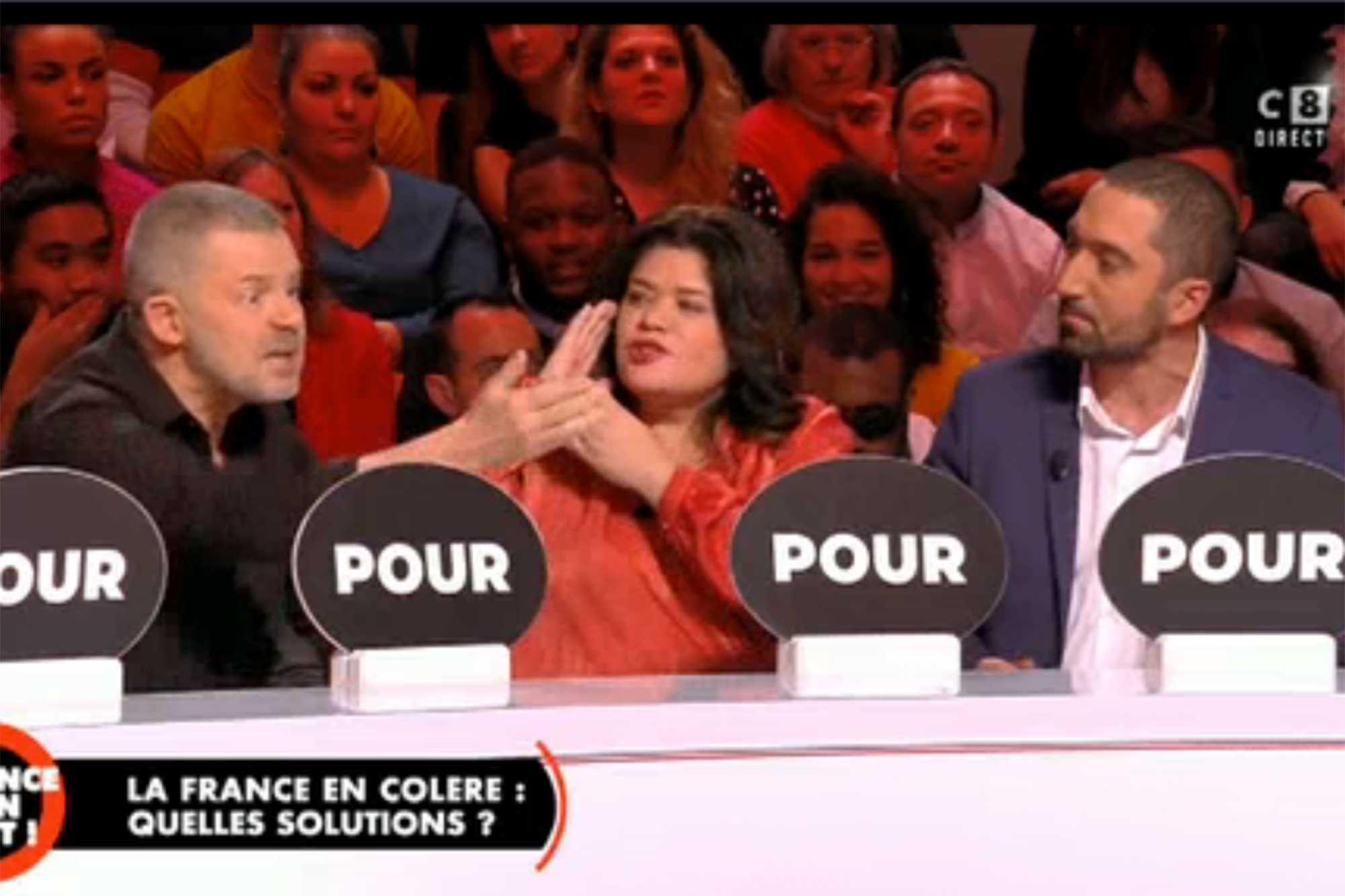 """""""Balance ton post"""" : passe d'armes entre Eric Naulleau, Raquel Garrido et Jimmy Mohamed"""