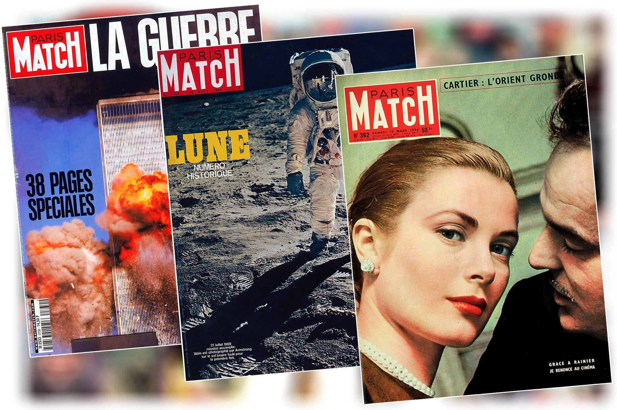 70 Ans De Match Le Roman Vrai Des Couvertures De Paris Match