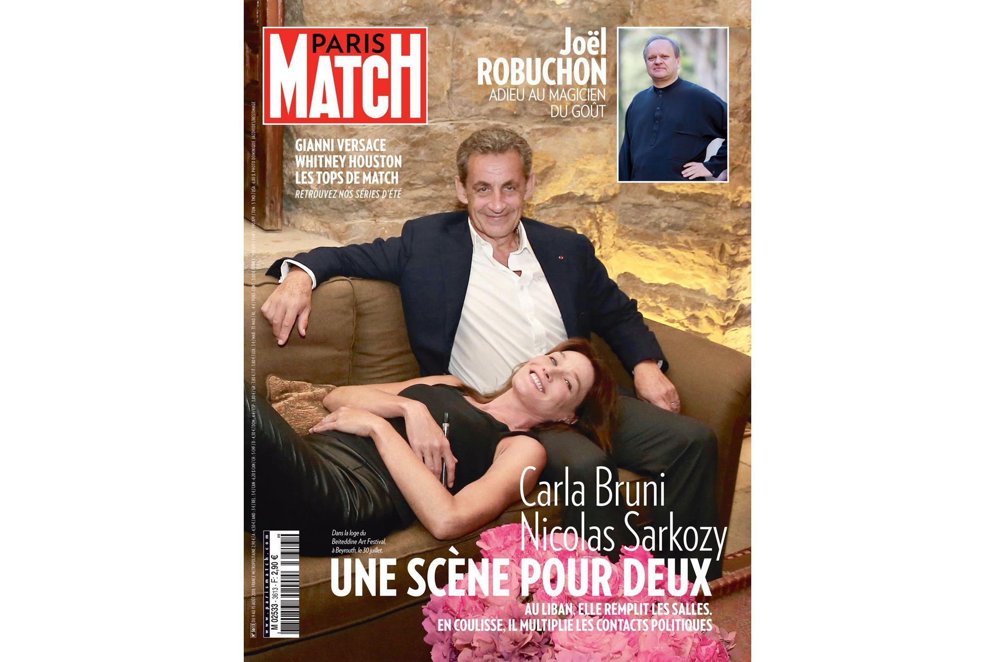 Carla Bruni Et Nicolas Sarkozy Une Scene Pour Deux