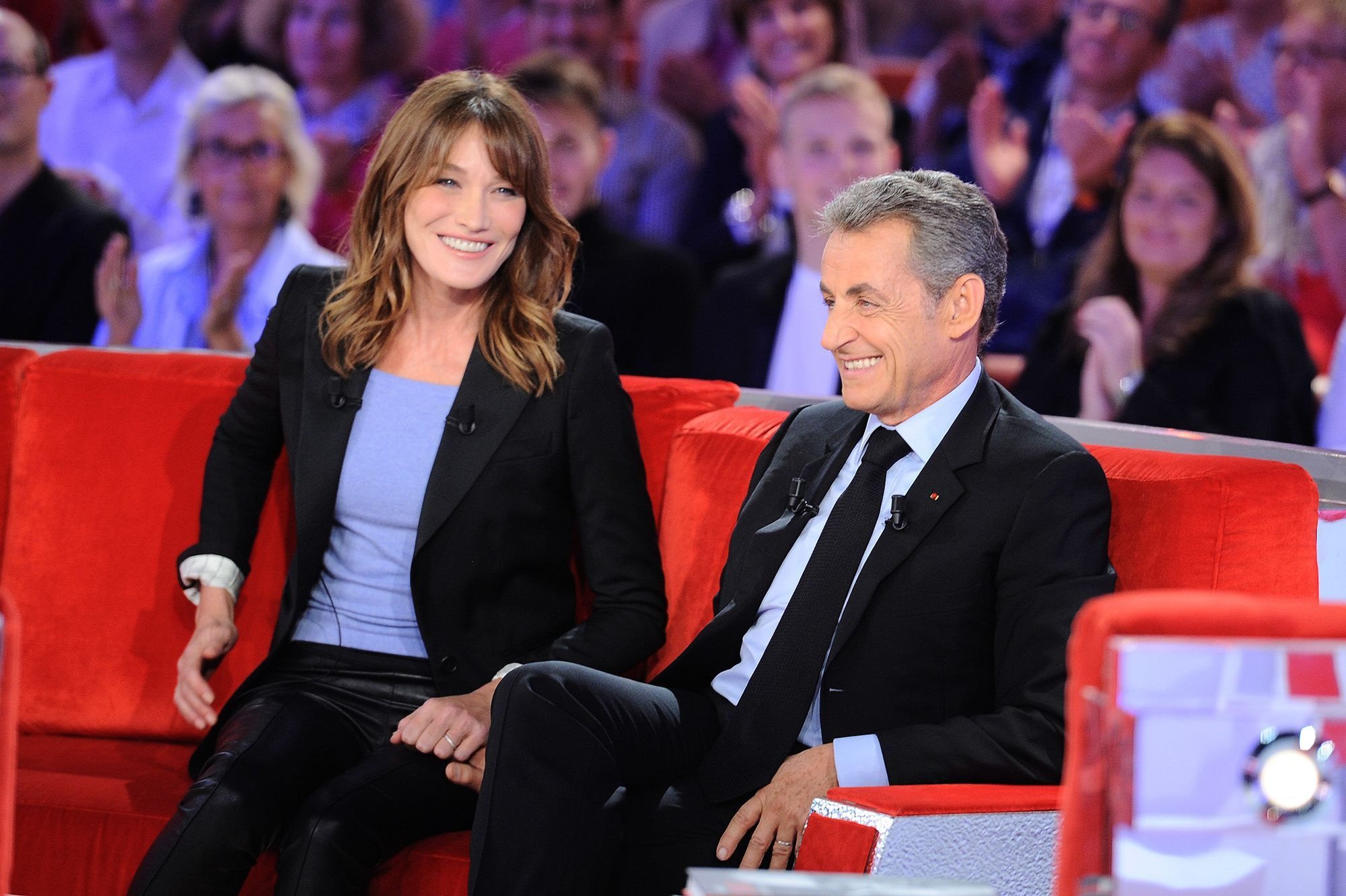 Carla Bruni Sa Douce Declaration D Amour A Nicolas Sarkozy