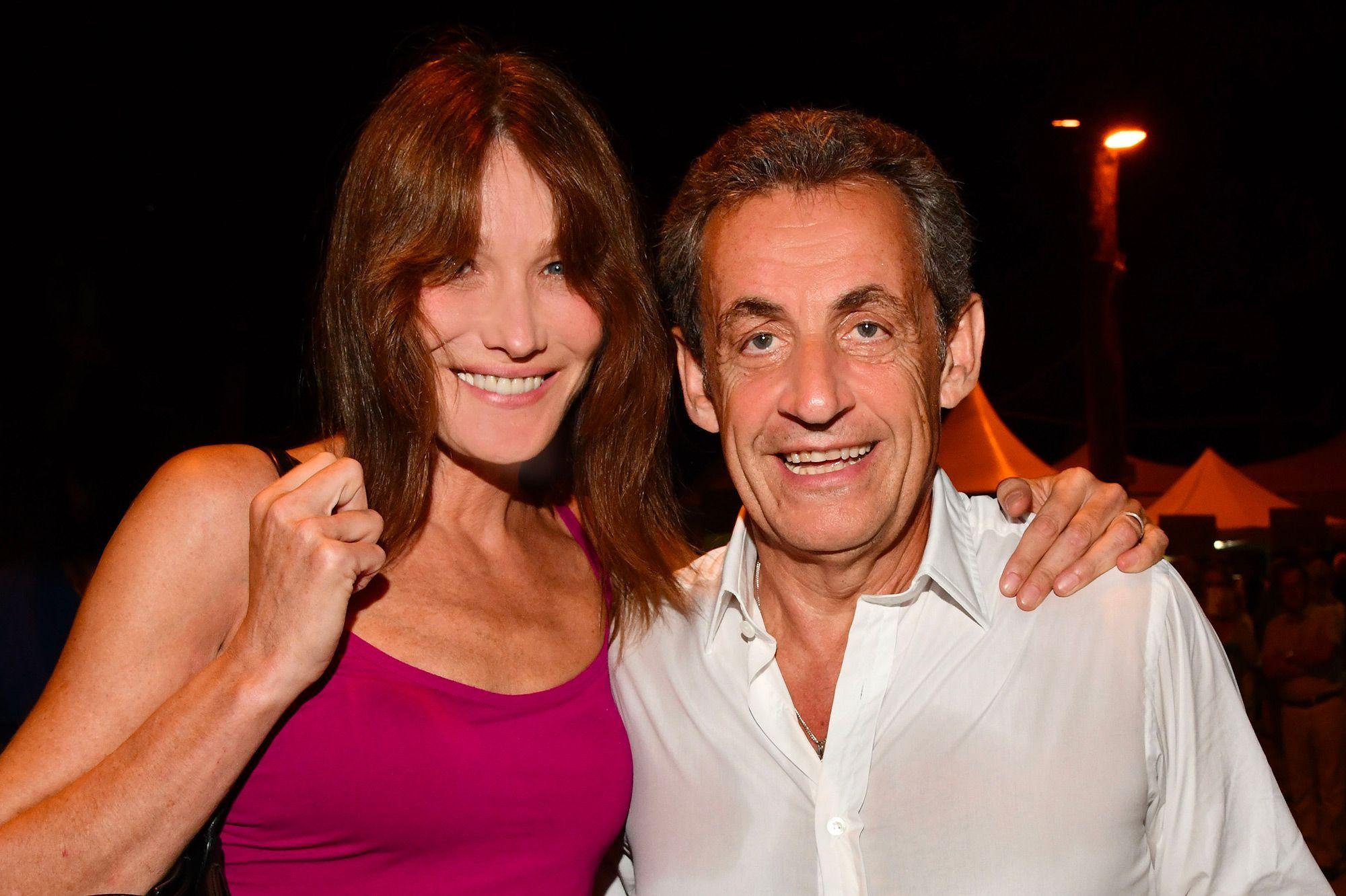 Carla Bruni Tendres Moments Entre Nicolas Sarkozy Et Leur Fille Giulia