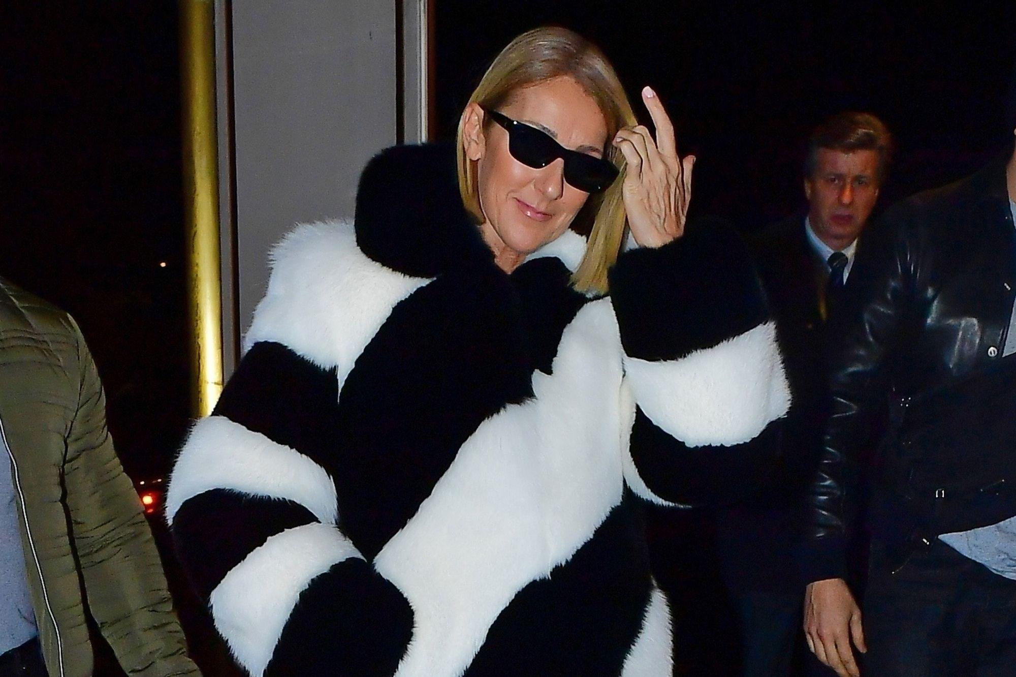 Céline Dion, fashionista vedette à New York