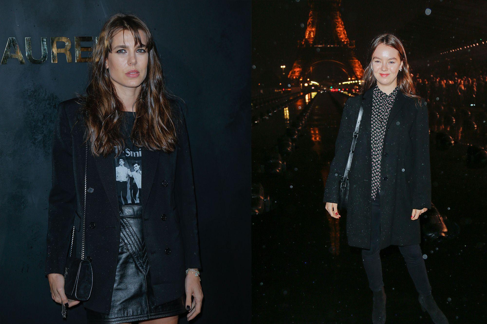 Charlotte Casiraghi et Alexandra de Hanovre, soeurs parmi les stars à Paris