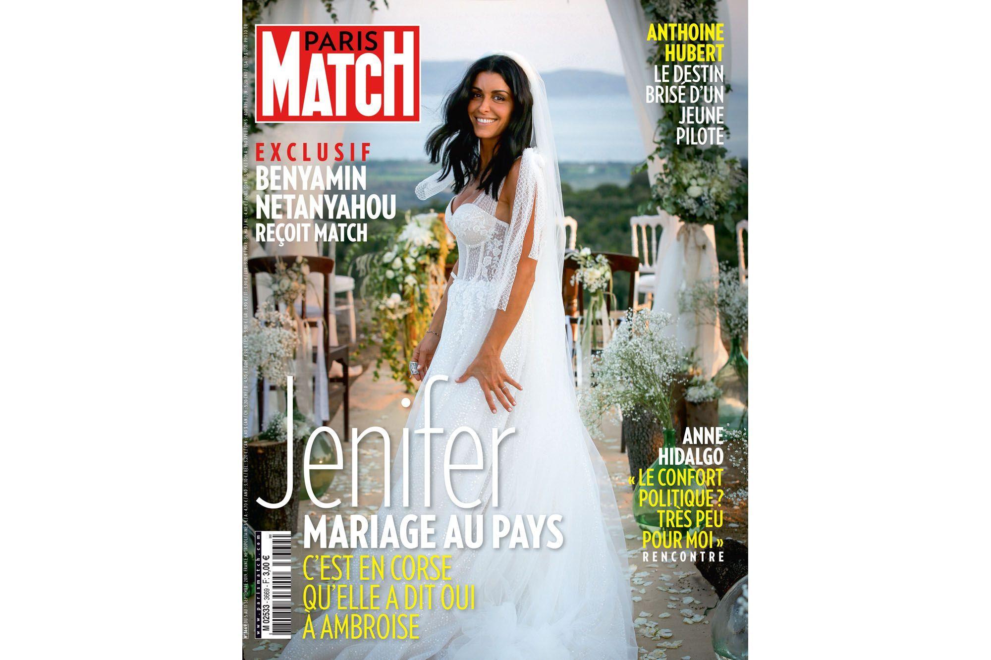 Jenifer  le récit de son mariage en Corse