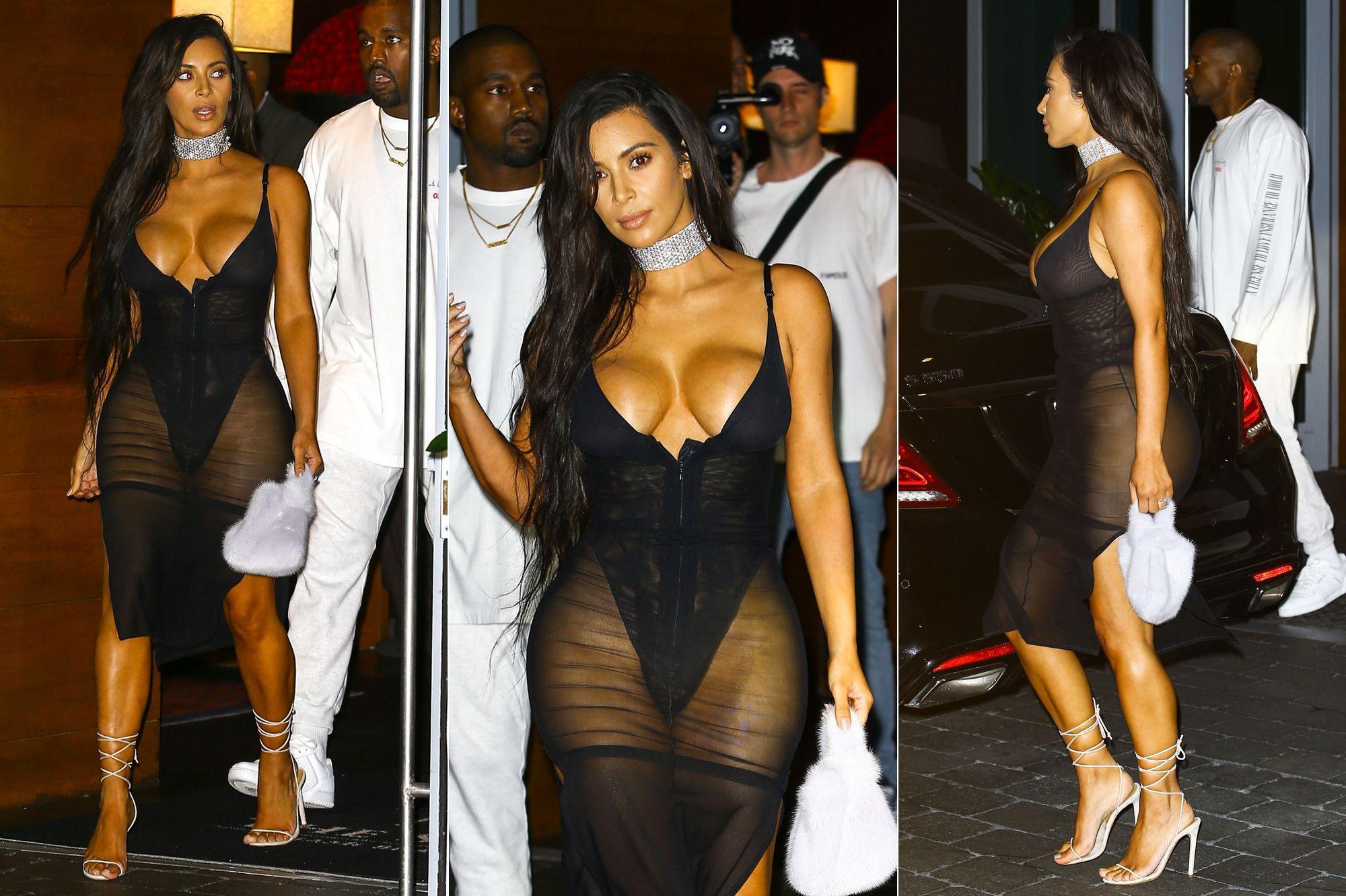 8f3e854cc4c75 Kim Kardashian, plus sexy que jamais à Miami