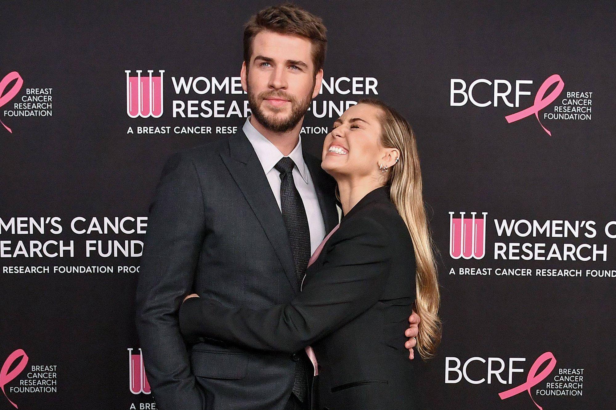 Liam Hemsworth liste des rencontres