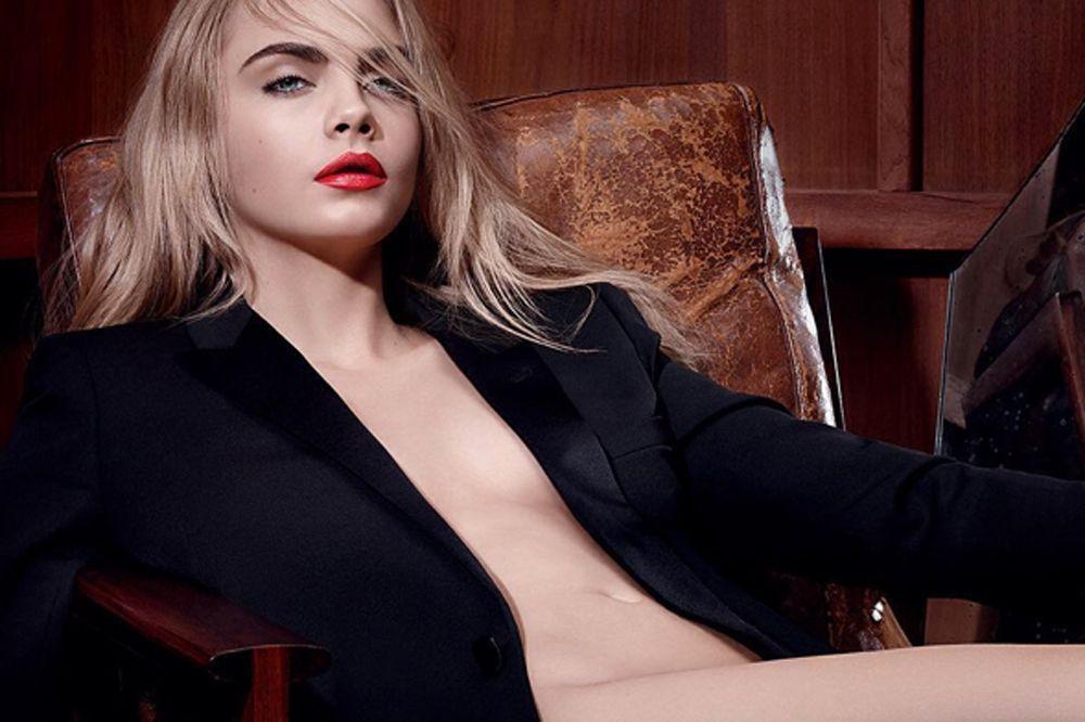 La Mode Yves Delevingne Top Continue Le Presque Nue Cara Pour H9eDEIW2Y