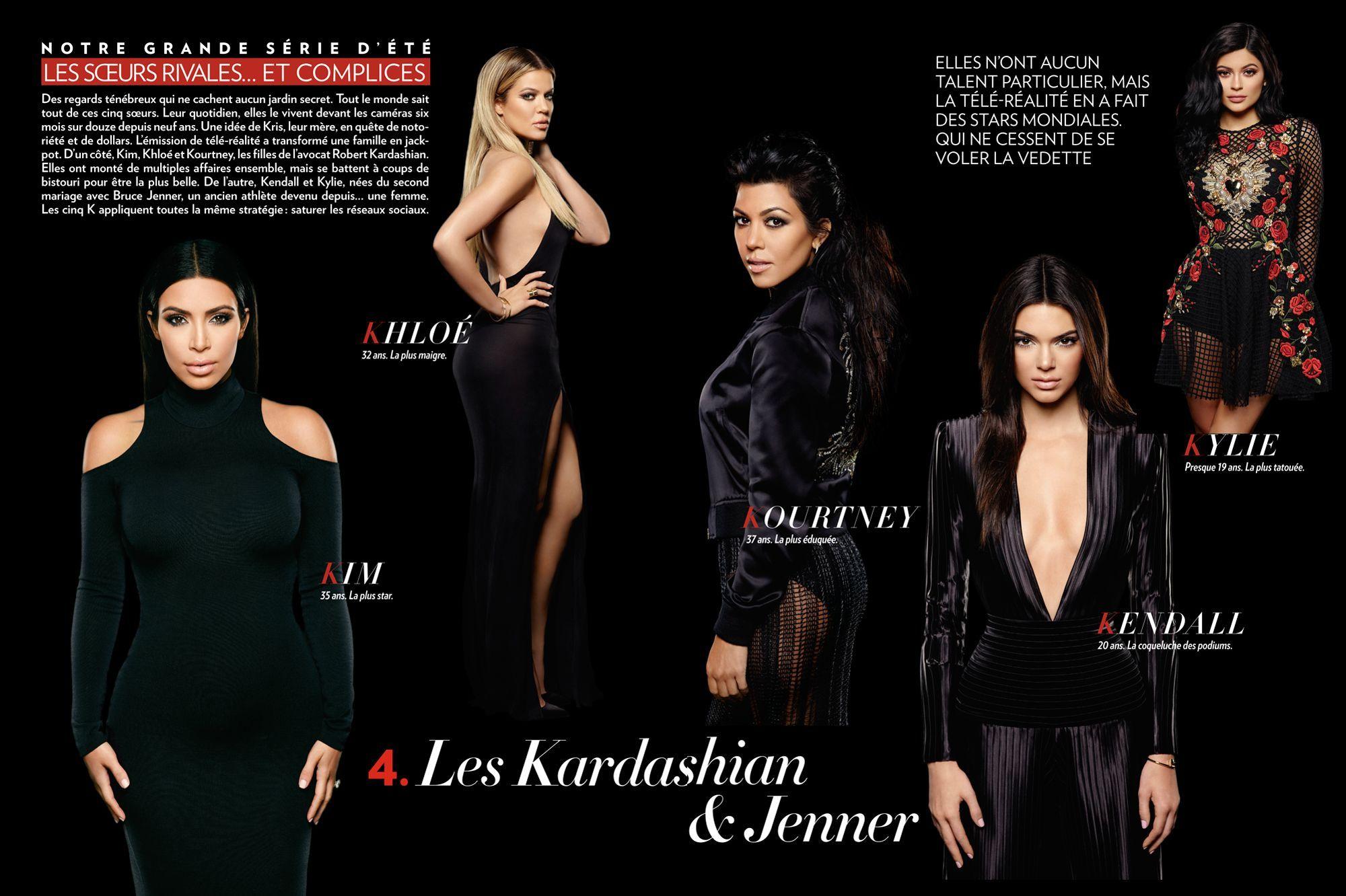 Kardashian u0026 Jenner : les sœurs rivales et complices