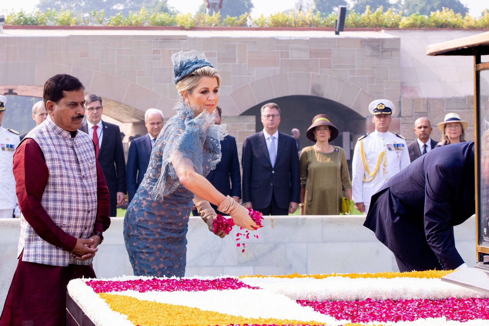 Maxima et Willem-Alexander sont en Inde