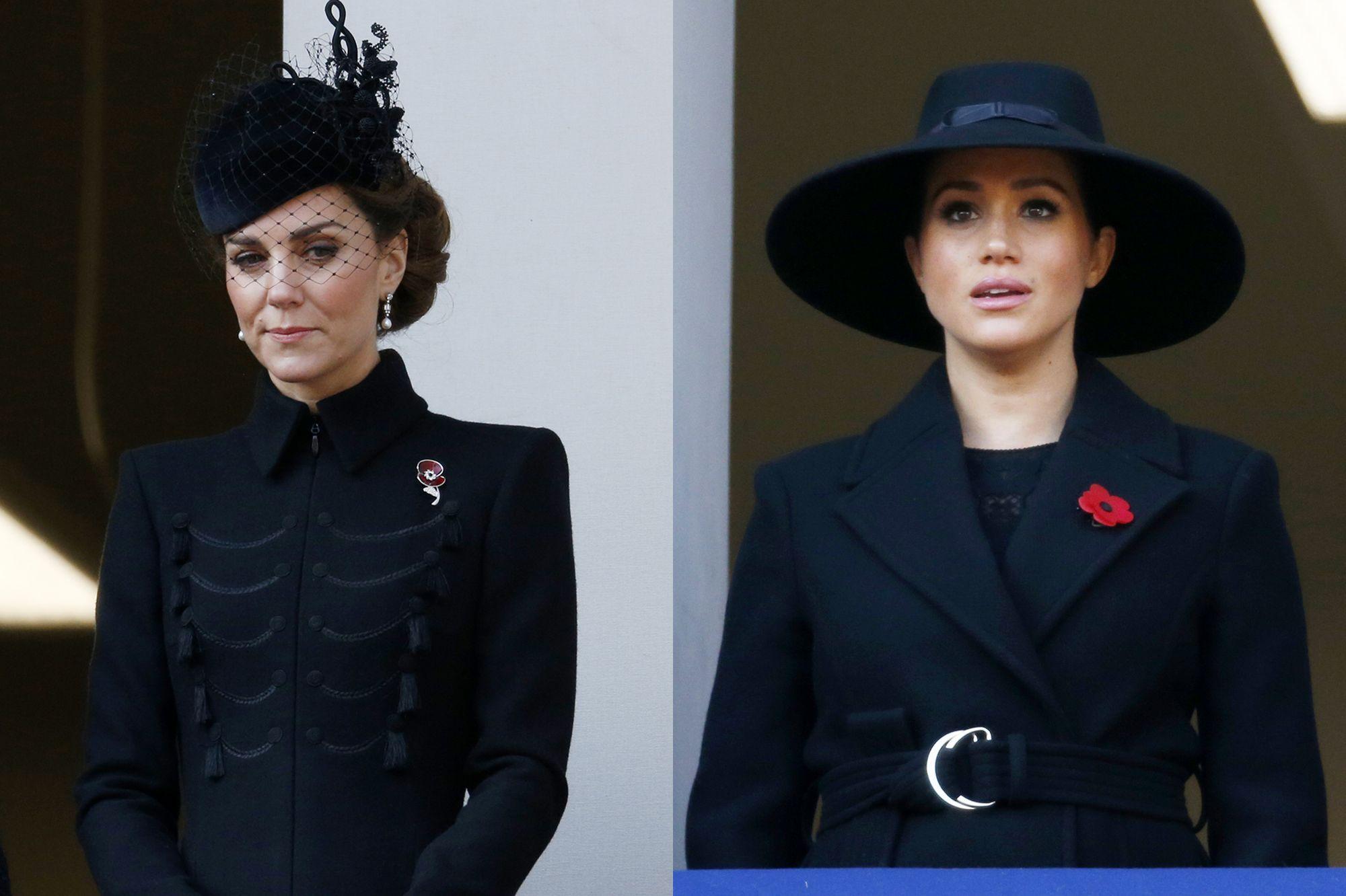Kate Middleton et Meghan Markle assistent séparément à une cérémonie