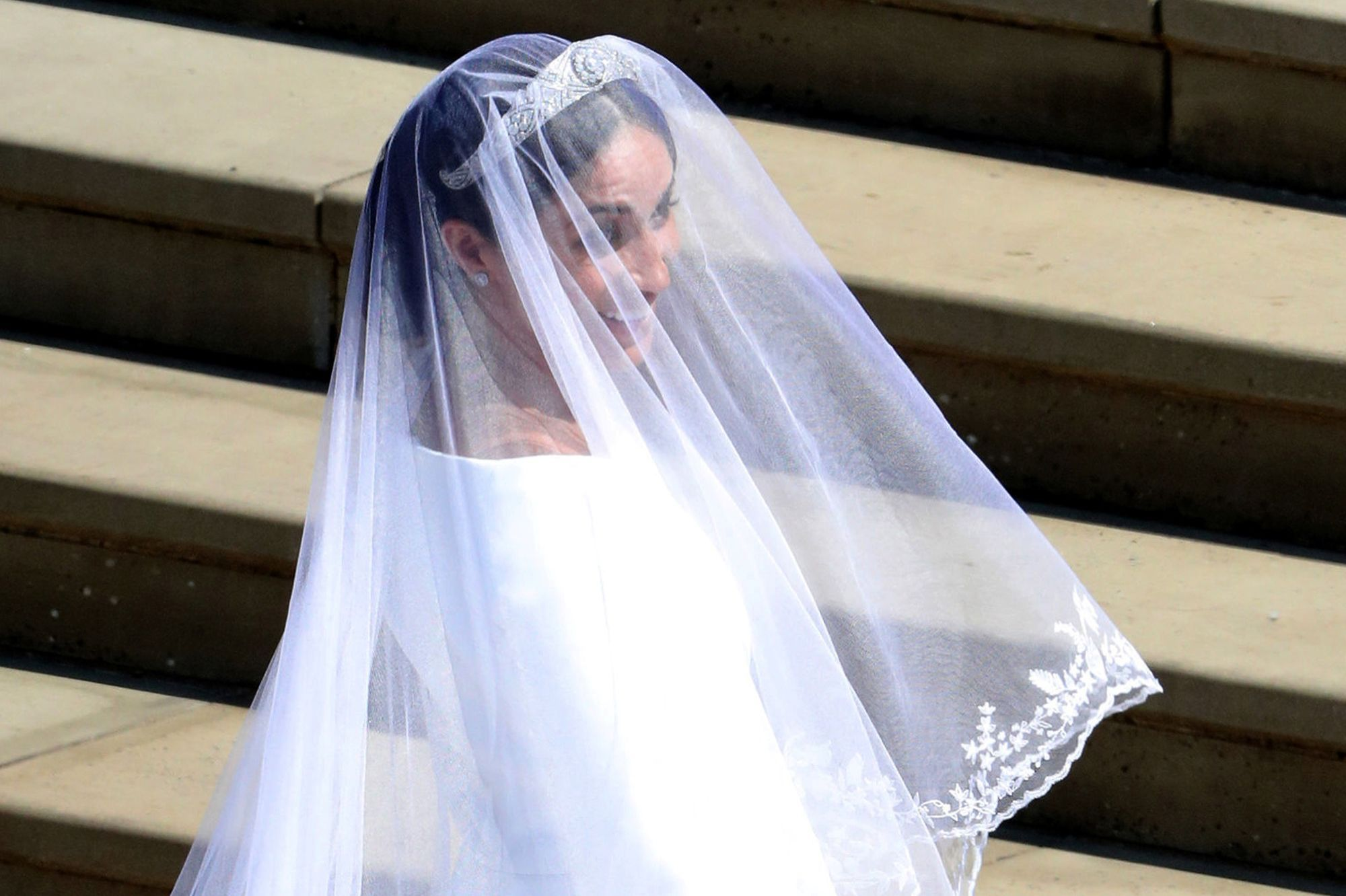 La Robe De Mariee De Meghan Markle En Photos