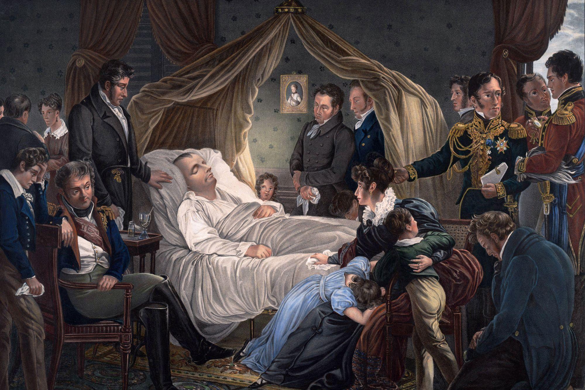 La mort de l'Exilé - Gérard de Nerval Les-Francais-n-ont-appris-la-mort-de-Napoleon-Ier-qu-au-bout-de-deux-mois