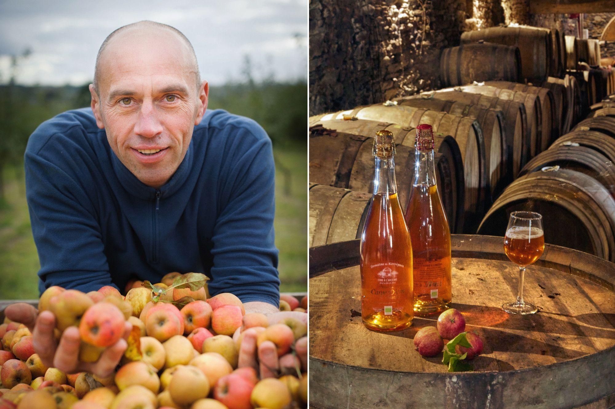 Eric Baron, la star du cidre breton