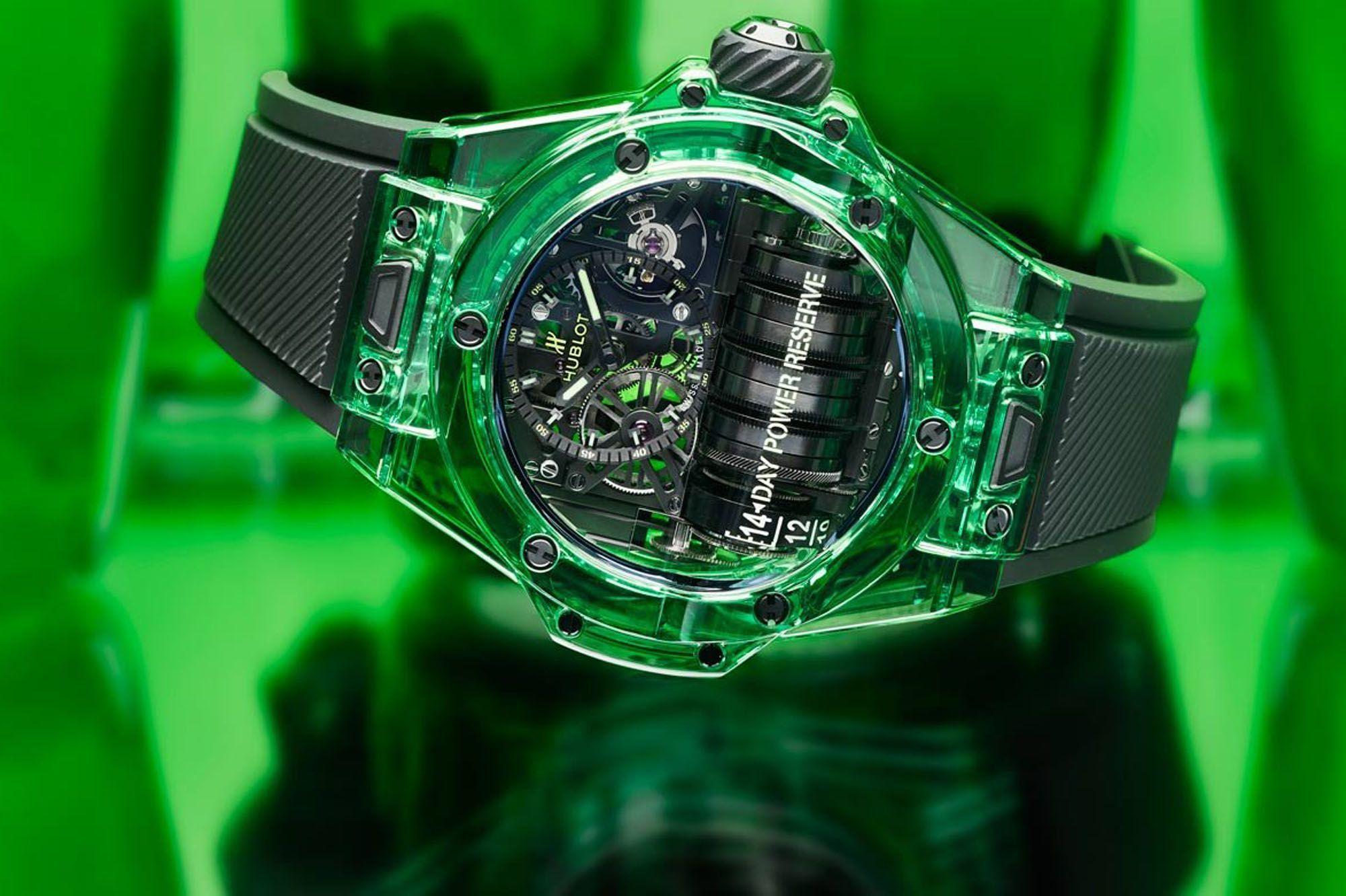 Hublot : des montres aux matériaux innovants