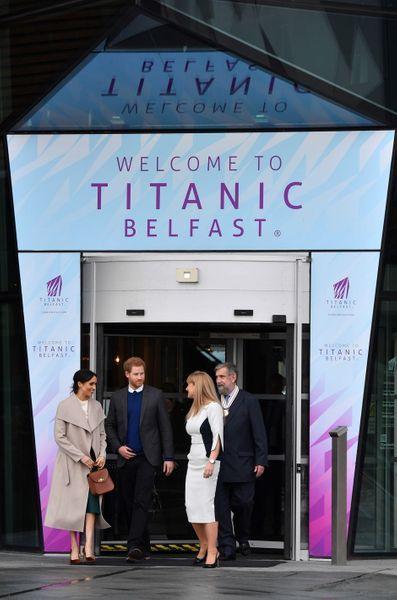 Musée Titanic Belfast  - Page 3 Meghan-Markle-Et-Le-Prince-Harry-A-Belfast-Le-23-Mars-2018-2