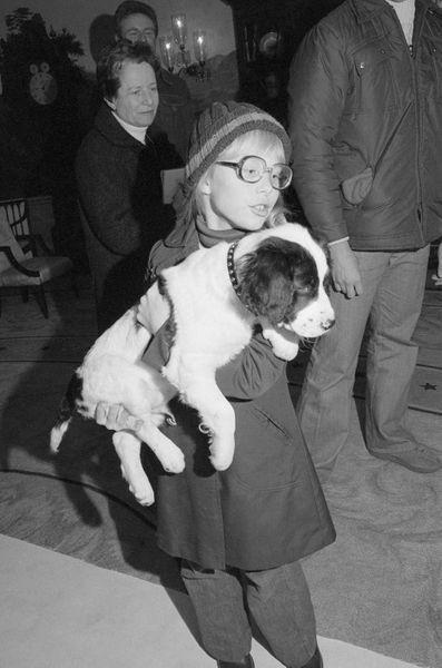 Amy Carter janvier 1977