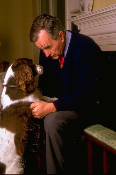 George HW Bush fevrier 1994