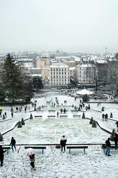 Paris neige 5