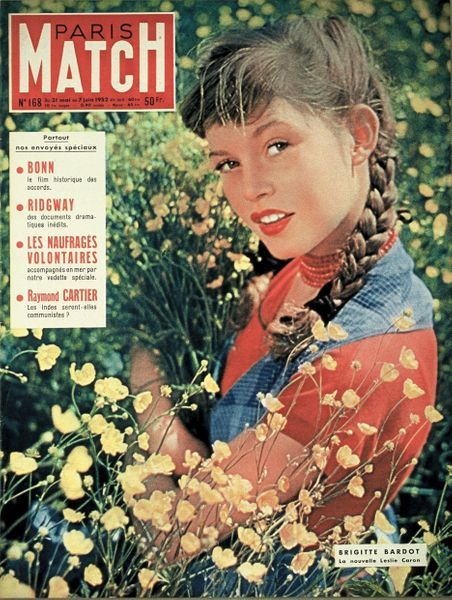 Brigitte Bardot 1952 Paris Match Photos 16