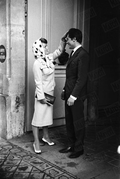 Alain Delon Romy Schneider Photos 1958 Rendez Vous 1