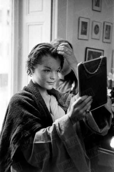 Alain Delon Romy Schneider Photos 1958 Rendez Vous 4