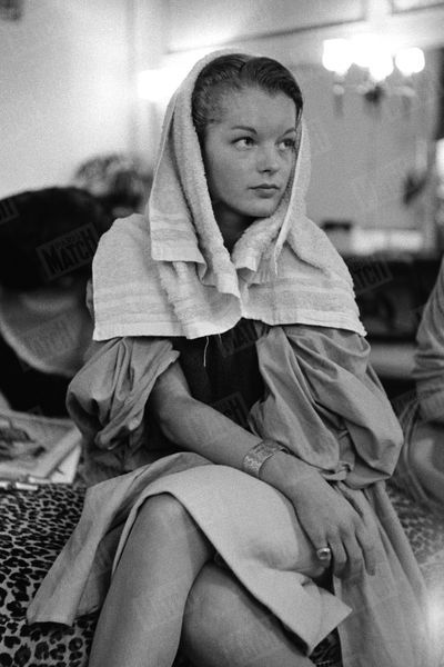 Alain Delon Romy Schneider Photos 1958 Rendez Vous 5