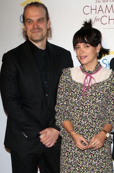 David Harbour et Lily Allen