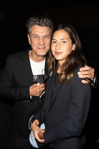 Marc Lavoine et Line Papin