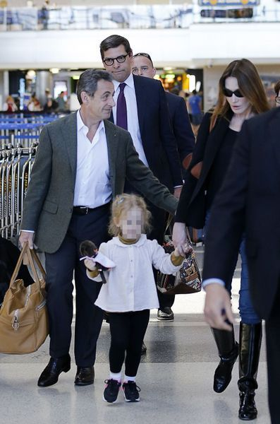Nicolas Sarkozy Et Carla Bruni En Vacances A Los Angeles