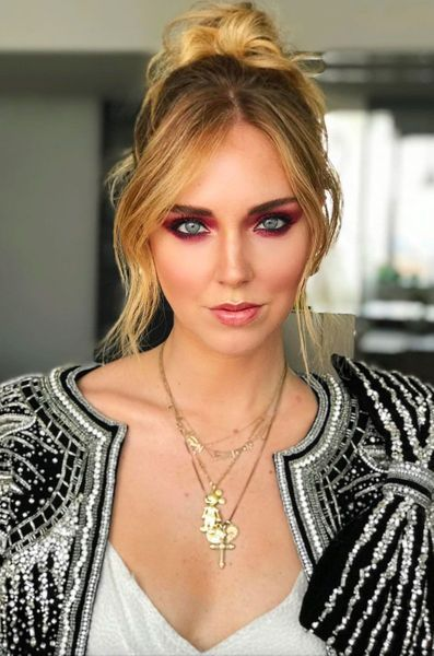 Stars Sans Maquillage Chiara Ferragni Avant Apres