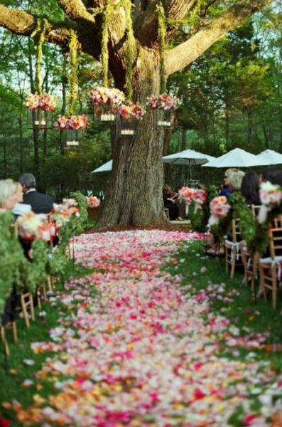 Mariage 13 Idées De Décoration Florale Repérées Sur Pinterest
