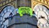 Climat: Greenpeace s'invite à Bruxelles