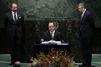 Un nombre record de pays signent à l'ONU l'accord sur le climat