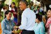 Au Laos, Barack Obama profite de sa dernière tournée en Asie