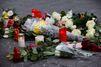 Berlin : des larmes et des bougies pour partager sa peine